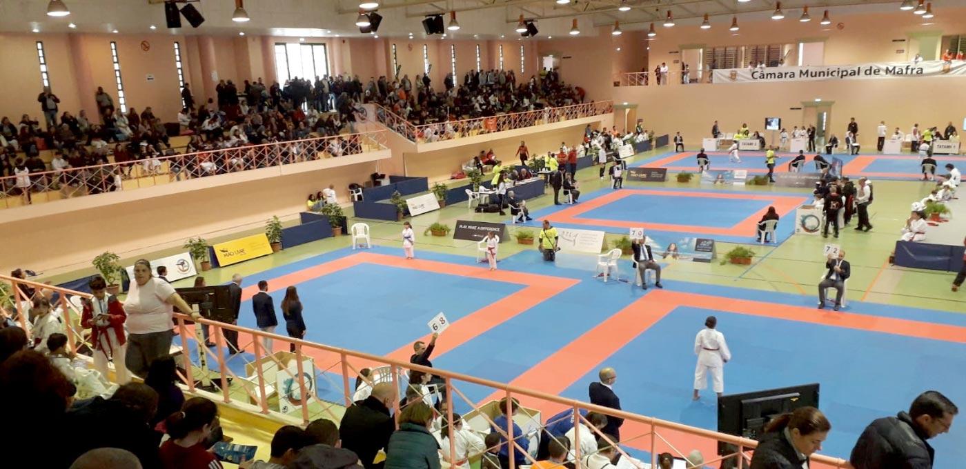 "Malveira recebeu ""Ericeira Karate Open"""