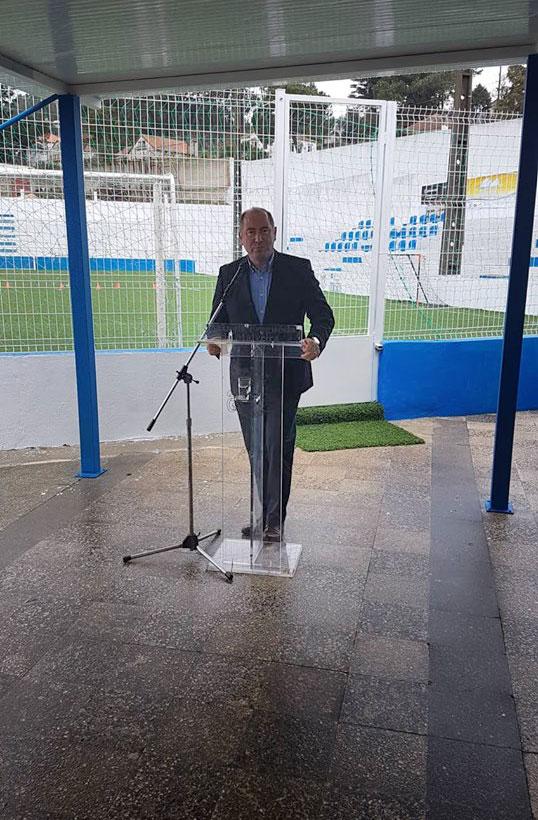 Obras no Polidesportivo do Estádio das Seixas inauguradas